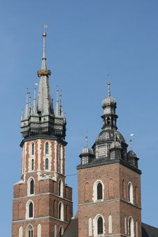 Free Mariacki Church, Cracow,poland Stock Photography - 6361302