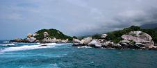 Free Caribbean Rock Island Stock Photo - 6361320