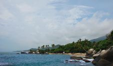 Free Caribbean Rock Island Stock Image - 6361361