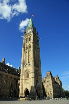 Free Peace Tower Royalty Free Stock Photo - 6361405