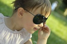 Free Baby In Sun Glasses Stock Photo - 6361710