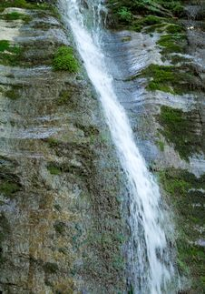 Waterfall At The Ashe River Royalty Free Stock Image