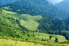 Caucasus Mountains Royalty Free Stock Image