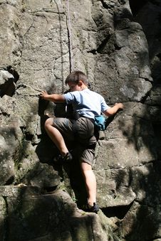 Free Climbing Royalty Free Stock Photo - 6363105
