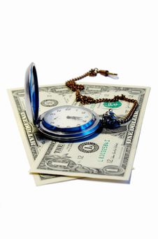 Free Time Is Money Royalty Free Stock Photo - 6363135