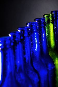 Free Green Bottle Royalty Free Stock Image - 6363256