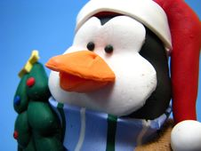 Free Christmas Penguin Stock Image - 6363941