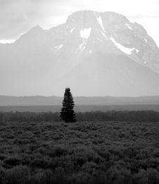 Free Teton Mountains Storm Royalty Free Stock Images - 6364449