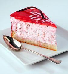 Free Strawberry Cheesecake Stock Image - 6364601