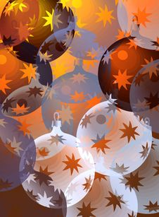 Free Pastel Christmas Balls Royalty Free Stock Images - 6364759