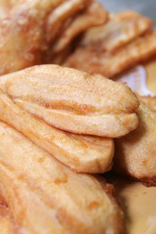 Free Banana Fried Stock Photo - 6364800