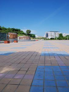 Free Scenery Of Plaza Royalty Free Stock Photo - 6364875