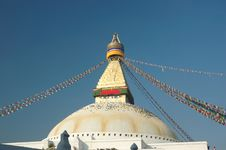 Free Boudhanath Stupa In Kathmandu Stock Photography - 6364942