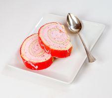 Free Strawberry Cheesecake Stock Photos - 6364953