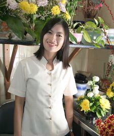Free Florist At Work Royalty Free Stock Image - 6364966