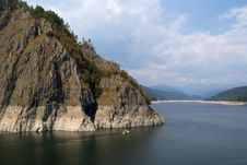 Free Vidraru Lake In Fagaras Mountains Stock Photography - 6365212