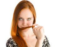 Free Long Red Hair Stock Photos - 6365593