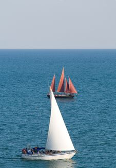 Free Old Sailing Boats Royalty Free Stock Photography - 6365597
