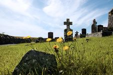 Free Irish Graveyard 6 Royalty Free Stock Photography - 6366117