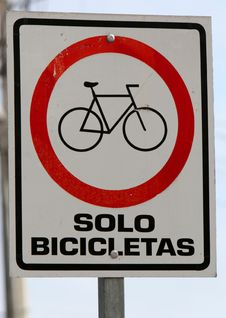 Free Solo Bicicletas Stock Photo - 6367500