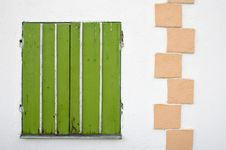 Free Green Blinds Royalty Free Stock Images - 6367539