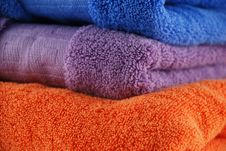 Free Bath Towels Royalty Free Stock Image - 6367816