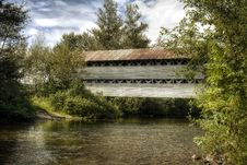 Free The Old Covered Bridge Royalty Free Stock Image - 6368026