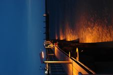 The Docks Stock Photo