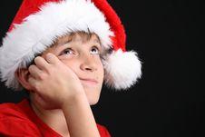 Free Christmas Boy Stock Photography - 6368832