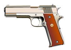 Free Powerful Pistol Royalty Free Stock Photos - 6369218
