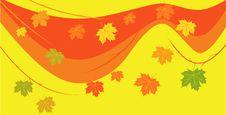 Free Autumn Vector Background Stock Photos - 6369703