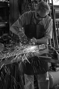 Free A Blacksmith Royalty Free Stock Photography - 6369757