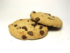 Free Chocolate Chip Cookies Royalty Free Stock Image - 6369776