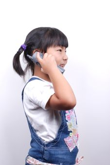 Free Making A Call Royalty Free Stock Images - 6369939