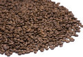 Free Group Of Coffee Beans On White Stock Photography - 6374322