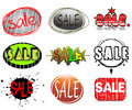 Free Set Of Labels And Stickers Royalty Free Stock Photos - 6376288