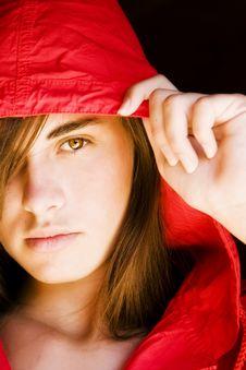 Free Young Woman Staring At Camera Stock Image - 6370081