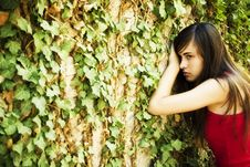Free Woman On Wall Royalty Free Stock Photography - 6370107