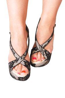 Free Legs On White. Stock Photos - 6372353