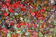 Free Colorful Broken Glass Stock Image - 6372761