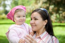 Free Mother And Daughter Stock Photography - 6372832