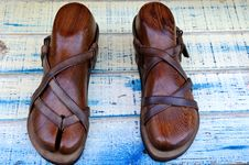 Free Sandals Royalty Free Stock Photography - 6372907