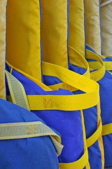 Free Life Jackets Royalty Free Stock Photos - 6373028
