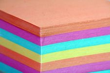 Free Color Note Paper Stock Photography - 6373382