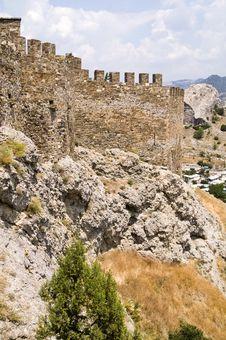 Free Genoa Castle In Sudak Stock Images - 6373514