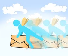 Free Fast Air Mail Stock Photography - 6373792