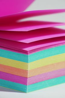 Free Color Note Paper Royalty Free Stock Images - 6373999