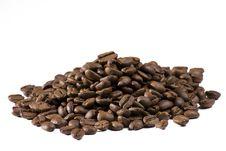 Free Coffee Beans On White Background Stock Photo - 6374340