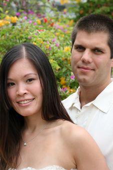 Free Happy Bride And Groom Stock Photos - 6374753