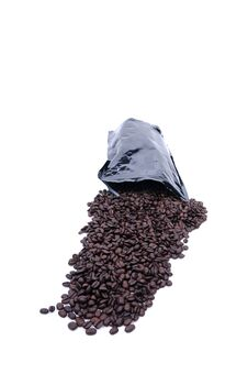 Free Coffee Spilled From Bag Stock Photos - 6374903